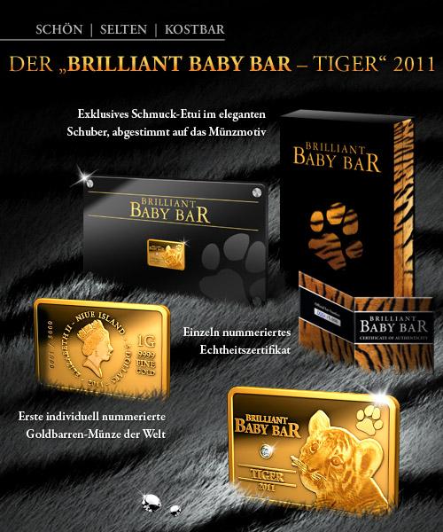 Brilliant Baby Bar - Tiger