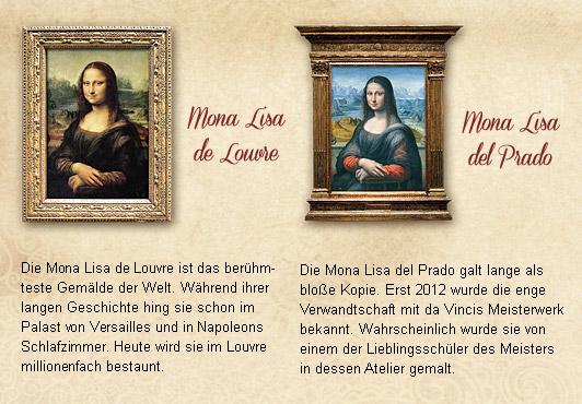Streng limitiert! – Die Mona – Lisa – Schwestern