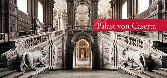 Grand Interiors Palast von Caserta