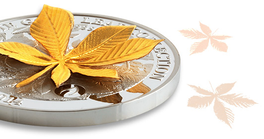 Golden Chestnut Leaf