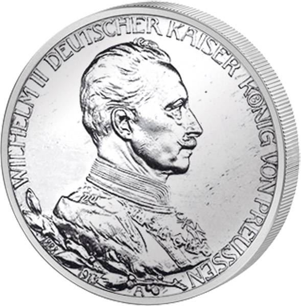 2 Mark Regierungsjubiläum 1913