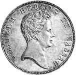 Taler Kronentaler Herzog Wilhelm I 1831-1837  ss-vz
