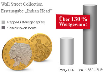 Wall Street Collection Indian Head