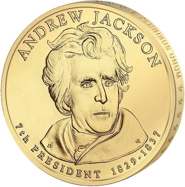 1 Dollar USA Andrew Jackson 2008 Stempelglanz