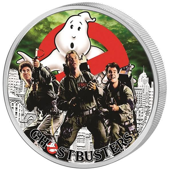 1 Dollar Tuvalu Ghostbusters 2017
