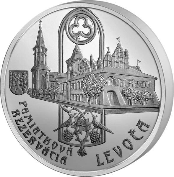 20 Euro Slowakei Denkmalschutzgebiet Levoca
