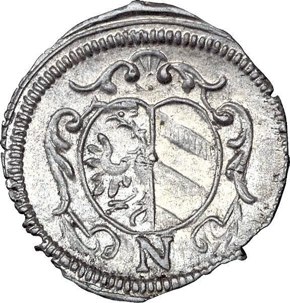 1 Kreuzer Nürnberg Freie Reichsstadt