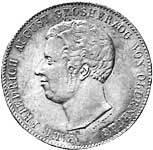Taler Doppeltaler Paul Friedrich August 1840  ss-vz