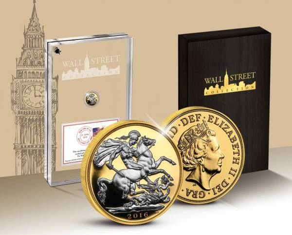Wall Street Investment Half Sovereign