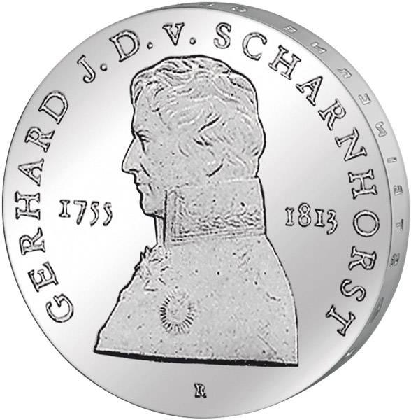 10 Mark Gerhard Johann David von Scharnhorst