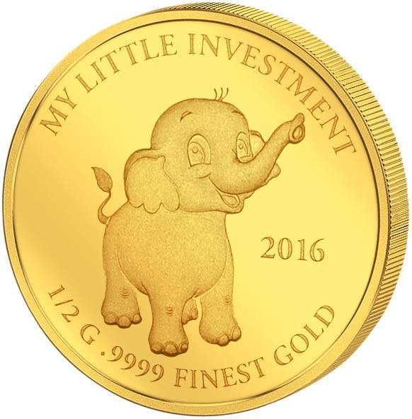 10 Dollars Salomonen My Little Investment Elefant