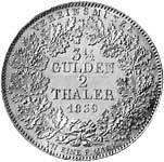 Taler Doppeltaler Ludwig I. (1825-48) 1839  vorzüglich
