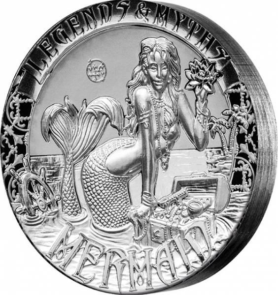 2 Unzen Salomonen Legenden und Mythen - Meerjungfrau 2016