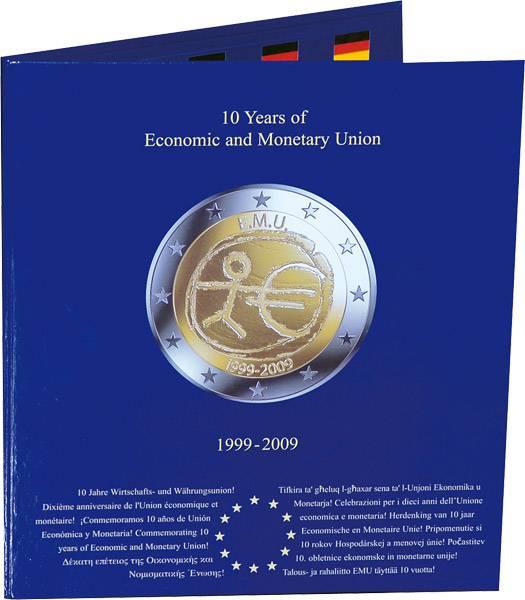 Sammelalbum 10 Jahre Euro Gedenkmünzen