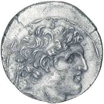 Tetradrachme Alexander I. Balas 150-146 v.Chr. ss-vz