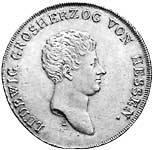 Taler Konventionstaler Ludwig I. 1809  vz-st