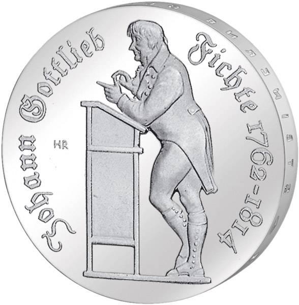 10 Mark  Johann Gottlieb Fichte 1990 A Stempelglanz