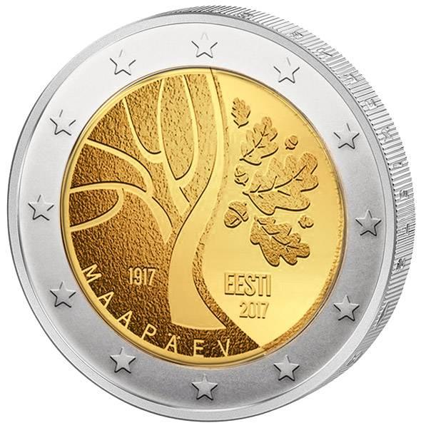 2 Euro Estland Weg in die Unabhängigkeit 2017