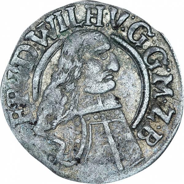 Groschen Kurfürst Friedrich Wilhelm