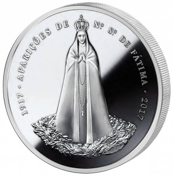 2,5 Euro Portugal 100 Jahre Wallfahrtsort Fátima 2017