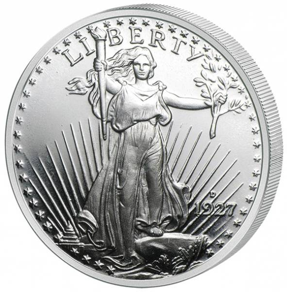 1 Unze Silber USA Gedenkprägung St. Gaudens