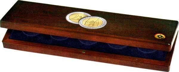Münzenetuis für 5 x 2 Euro-Gedenkmünzen 2006 Schleswig-Holstein
