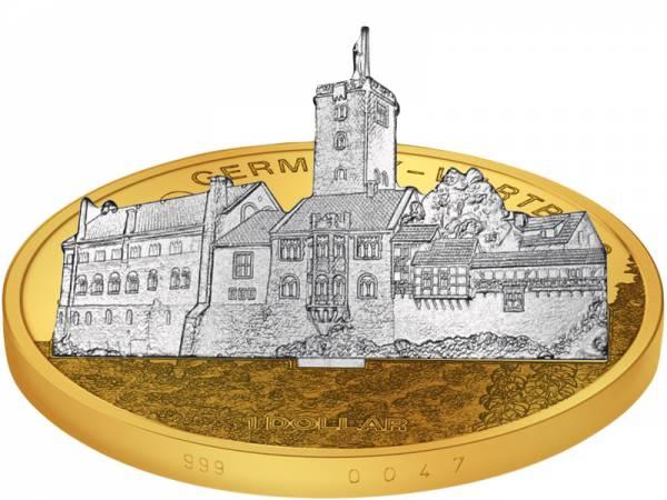 1 Dollar Cook-Inseln Deutschland Wartburg 2010