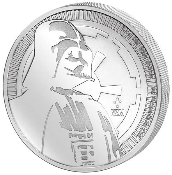 1 Unze Silber Niue Star Wars Darth Vader 2017