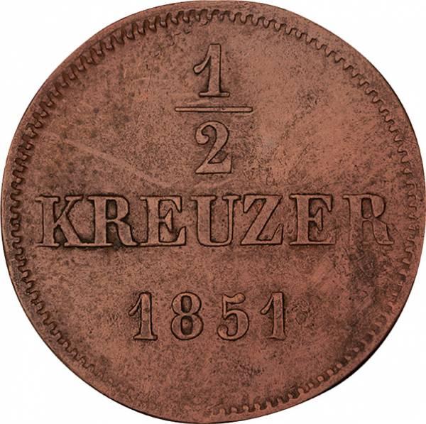 1/2 Pfennig  + 1 Pfennig + 3 Kreuzer Bayern König Maximilian II.
