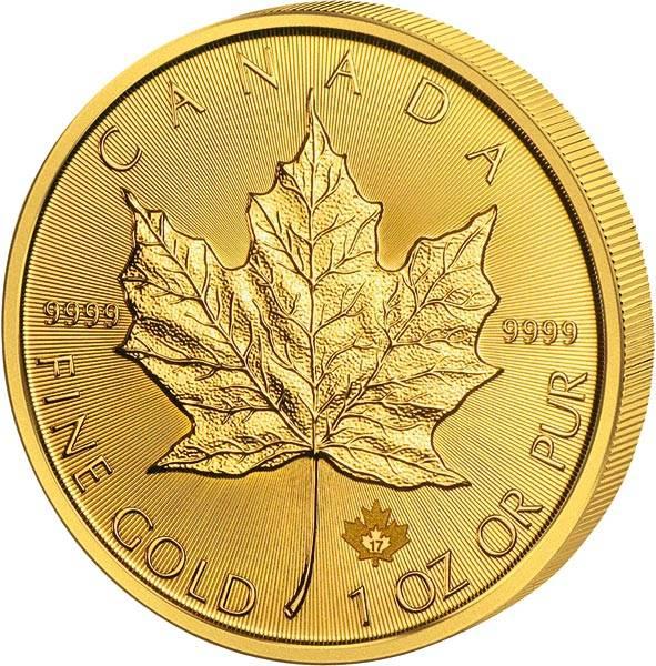 1/20 Unze Gold Kanada Maple Leaf 2017
