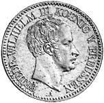 Taler  Friedrich Wilhelm III. 1823-1826  Sehr schön