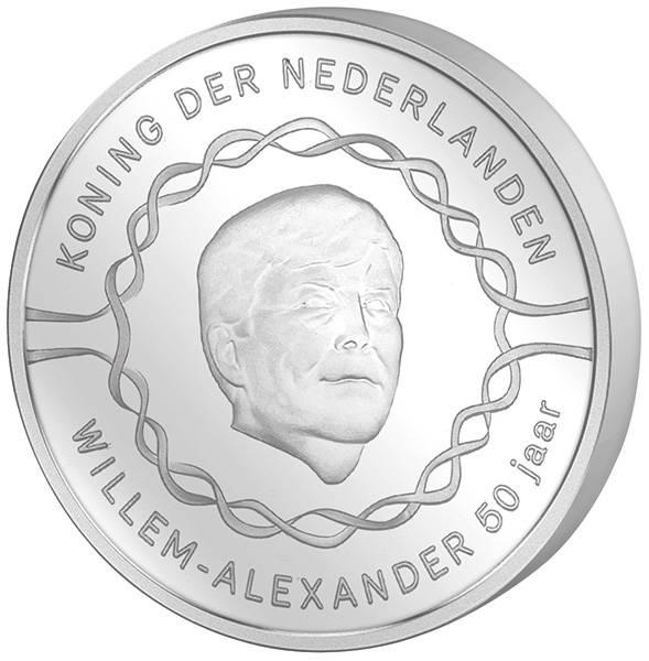 10 Euro Niederlande 50. Geburtstag von Willem-Alexander 2017