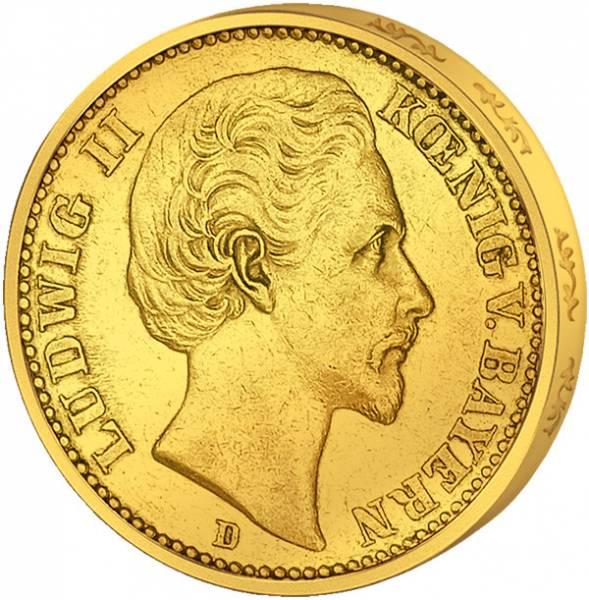 10 Mark Bayern König Ludwig II.