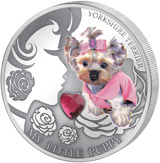 2 Dollars Fidschi 2013 – My Little Puppy Yorkshire-Terrier