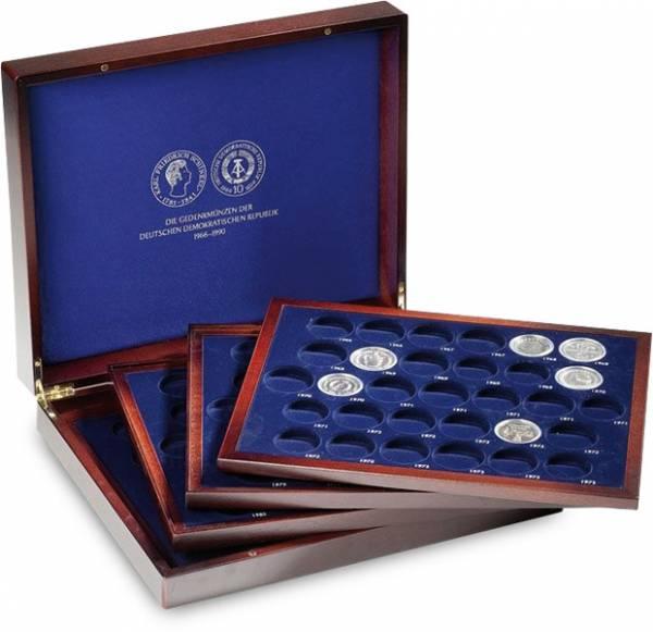 Münzkassette für 123 DDR-Gedenkmünzen