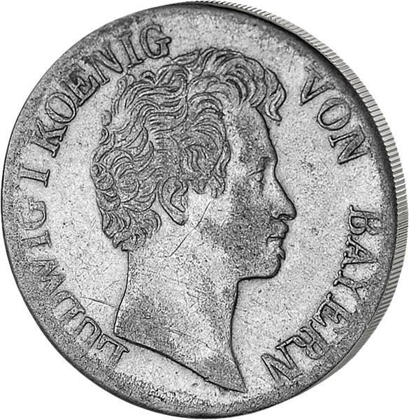 6 Kreuzer Bayern König Ludwig I.