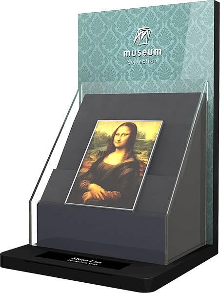 Münzvitrine Museumskollektion
