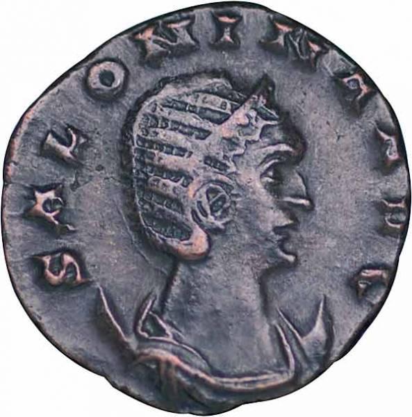 Antoninian Rom Kaiserin Cornelia Salonina gest. 268 n.Chr. Sehr schön