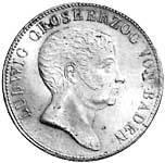 Taler Doppelgulden Ludwig 1821-1825  Sehr schön