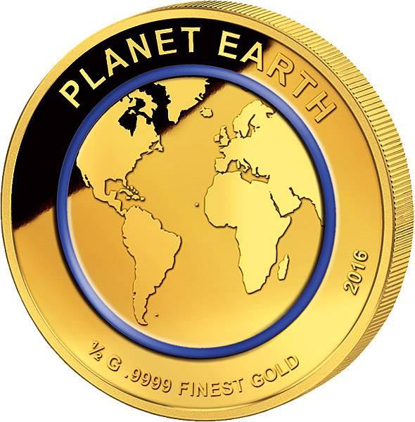 100 Francs Niger Planet Erde