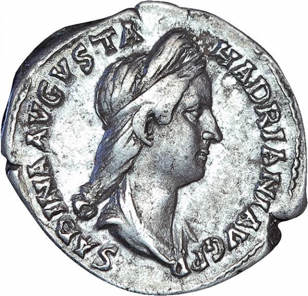 Denar Rom Kaiserin Sabina