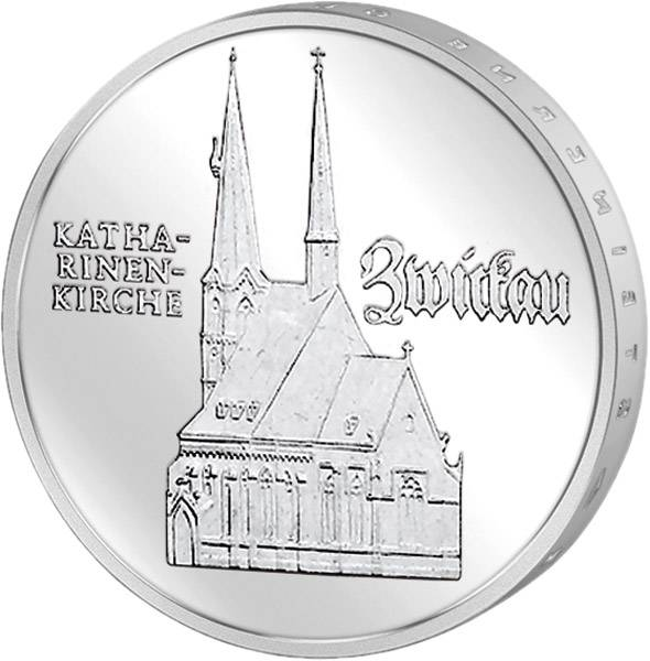 5 Mark Katharinenkirche Zwickau