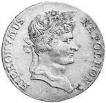Konventionstaler Silber Hieronymus 1810-1812 Vorzüglich