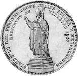Taler Geschichtsdoppeltaler Ludwig I 1847  Vorzüglich