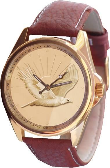 Golden Eagle Leder Armbanduhr