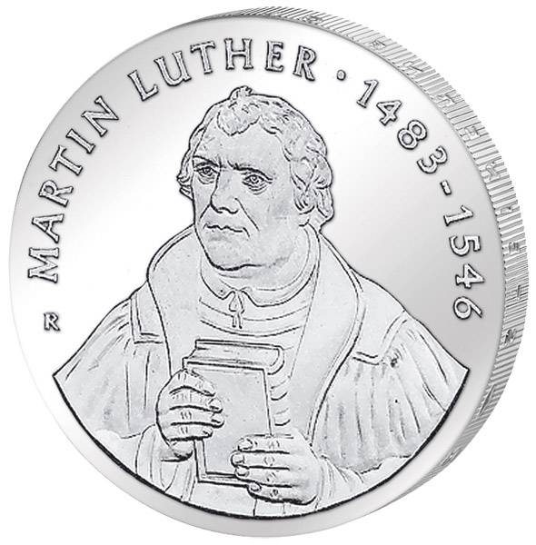 20 Mark Martin Luther Portrait