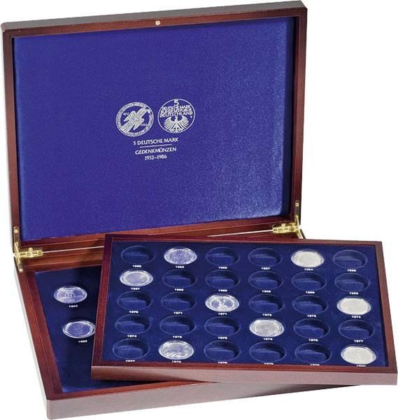 Münzkassette für 43 x 5-DM BRD-Münzen