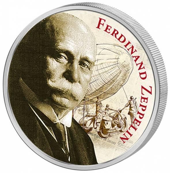 200 Mark Weimarer Republik 100. Todestag Graf Ferdinand von Zeppelin 1923