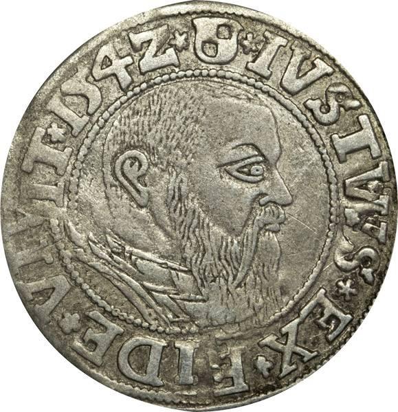 Groschen Herzog Albrecht von Brandenburg 1525-1568