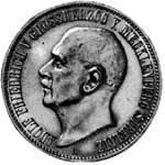 3 Mark Mecklenburg-Strelitz Adolf Friedrich V. 1913 Vorzüglich